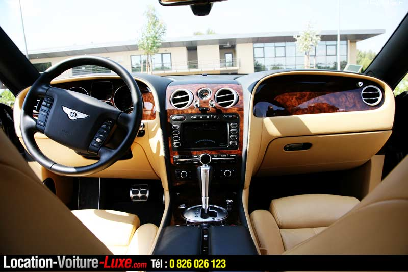 Luxe bentley interieur gt for Interieur voiture